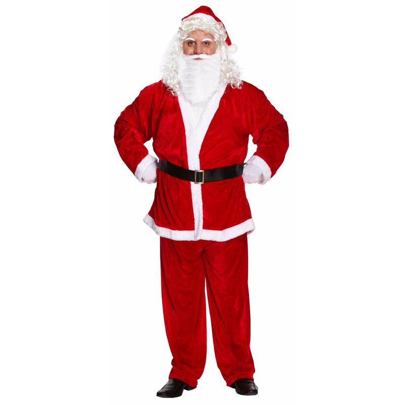 Kerstman kostuum voor heren xxl